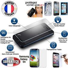 Protection d'Ecran en Verre Trempé Contre les Chocs pour Samsung Galaxy S4 i9500