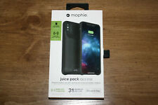 mophie Juice Pack Access 2 200mah Battery Case Durable for iPhone XS Max Black