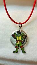 Ninja Turtle kids diffuser necklace, essential oil, diffuser, oil necklace, B478