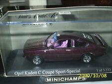 1:43 Minichamps - OPEL KADETT C COUPE SPORT-SPECIAL 1973