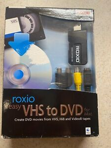 Roxio Easy VHS to DVD for Mac BRAND NEW SEALED