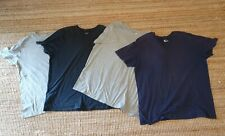 4 x Nike men's training plain loose fit 100% cotton T-Shirts Sz XXL