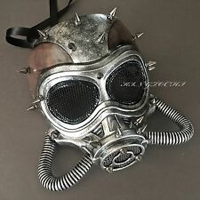 New Steampunk Full Face Halloween Masquerade Gas Pipe Party Mask