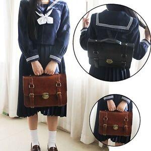 Women Vintage Japanese JK Uniform Shoulder bag School book bag Backpack Cosplay