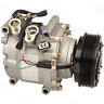 NEW A/C COMPRESSOR with clutch- 02 03 04 05 Civic 1.7L 2 wire connector Prelude