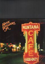 HANK WILLIAMS JR. - montana cafe LP