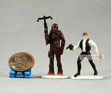 """Hasbro Star Wars 1"""" Toy Soldat Action Figur Han Solo & CHEWBACCA Legacy S92"""