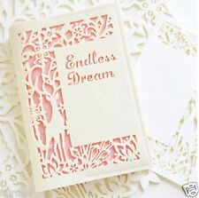 New Handmade Retro Vintage Beige Pink Felt Cover Blank Journal Diary Note Book