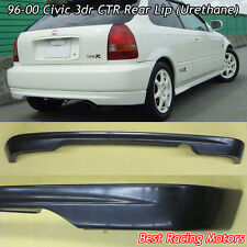 CTR Style Rear Bumper Lip (Urethane) Fits 96-00 Honda Civic 3dr