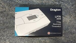 Drayton LP711 Electronic 7 Day Timeswitch  25478