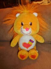 "Care Bear Cousin Brave Heart Lion 8"" TCFC 2003 Stuffed Plush bean bag"