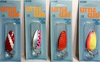 ACME C-100 LITTLE CLEO 1/3 oz Spoon Fishing Lure - Choose Color ( One Spoon )