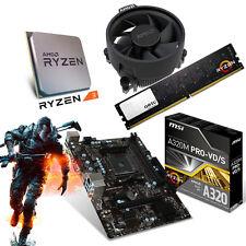 PC Aufrüst Kit Bundle AMD Ryzen 3 1200 (4x 3,4GHz) MSI A320M PRO-VD/S 8GB-DDR4