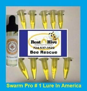 Honeybee Swarm Lure 10 pack honey bee scent beehive hive bait box trap beekeeper