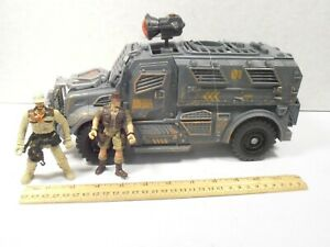 CHAP MEI ANIMAL PLANET TOYS R US *DARK FOREST TROOP ARMORED TRUCK* COMPLETE