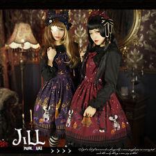Lolita Princess halloween midnight feast vampire bat Sleeveless dress JI3066