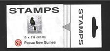 PAPUA NEW GUINEA. 1993, k2.10c  BOOKLET, BIRD. MNH, COMPLETE
