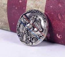 """Hand Engraved Silver Tip 5//8/"""" #122"""
