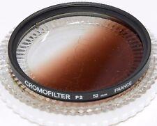 Chromofilter 52 mm P2 gradué Rose foncé + Case