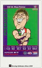 2009 AFL Teamcoach Trading Card Star Wild Card SW6 Rhys Palmer (Fremantle)
