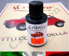 VERNICE RITOCCO SMALTO FIAT 500 CINQUECENTO D'EPOCA BLU SCURO COD 456 30ml