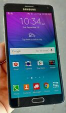 Samsung Galaxy Note 4 Verizon - 32GB - Black - Cracked Screen - Software Issues