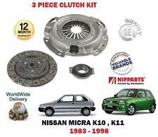Para Nissam Micra 1.0 1.2 K10 K11 1983-1998 nuevo kit rodamiento de Cubierta de placa de embrague