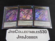 Yugioh! Number 30: Acid Golem of Destruction JUMP-EN059 X3 Ultra Rare!