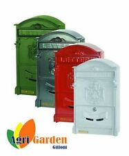 """CASSETTA POSTALE """"ROYAL"""" COLORE BIANCO -  Agrigarden Giffoni"""