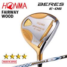 4-Star HONMA GOLF JAPAN BERES E-06 FAIRWAY WOOD ARMRQ X43 2018 MODEL 091805