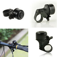 for Bike Bicycle Cycling BLACK Metal Ring Handlebar Bell Alarm Horn Sound hs88