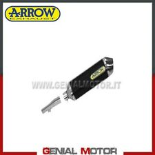 Terminale di Scarico + Raccordo Arrow R. Tech Alu N Honda Nc 700 X 2012 > 2013