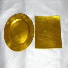 Genuine Pure 100 PCs 24K Gold Leaf Gilding Fram Sheets for Art Crafts Decor