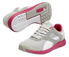 Puma FTR TF-Racer Womens UK 5.5 EU 38.5 Grey White Pink Sports Sneakers Trainers