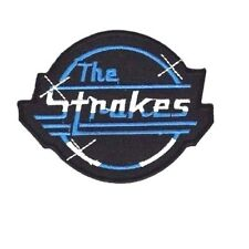 THE STROKES MUSIC ROCK Embroidered Patch Iron Sew Logo Hardcore Emblem Custom