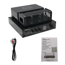 220V USB Bluetooth HiFi Vaccum Tube Player Home Audio Amplifier Wireless Speaker