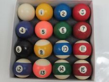 Sportcraft Billiard Ball Set /16 balls / IOB