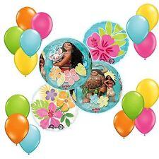 Disney Moana Tropical ORBZ Balloon 19 pc Bouquet Decoration Kit