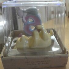 Disney Classic Winnie the Pooh Birthday Keepsake Cake Topper Figurine 6 th BD