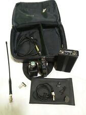 CHECK it OUT! Full Lectrosonics Wireless Set!!!  With Case! TRAM