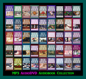 The NERO WOLFE Detective Series By Rex Stout  (74 MP3 Audiobook Collection)