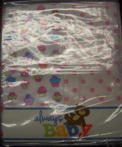 New 2 Pack Always Baby A Trademark of Gerber Flannel Receiving Blankets