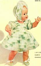 "1950's BABY DOLL / 15"" - COPY doll crochet pattern"