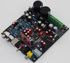 Assembled AK4495SEQ+WM8805+PCM2706+AD827 DAC Fiber Coaxial USB decoder board