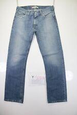 Levis 506 Standard (Cod. Y1658) tg47 W33 L34 jeans vita alta usato Vintage