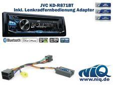JVC KD-R871BT inkl. Lenkrad Fernbedienung Adapter Renault Twingo Bj. 2000 - 2006