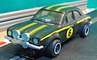 Scalextric 1:32 Vintage 1970s C052 Ford Escort MK1 RS 1600 Mexico (RESTORED)