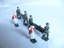 BRITAIN SOLDIERS ROYAL ARMY MEDICAL CORPS STRETCHER BEARER UNIT 9 PCS SET # 1723