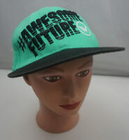 Awesome Future Hat Kids Green Stitched Adjustable Baseball Cap Pre-Owned ST210