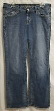 American Eagle Denim. women's Sz 10 REG. boyfriend jeans. Whiskered 32x31